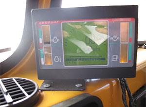 Обновленная панель приборов управления шнекоротором